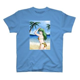 水着の女の子 T-shirts