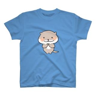 こつめかわうそのかわかわちゃん T-shirts