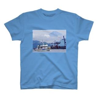 かざはや君と富士山 T-shirts