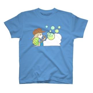 シャボン 前面のみ T-shirts