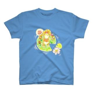 かえるくんのお気に入り T-shirts