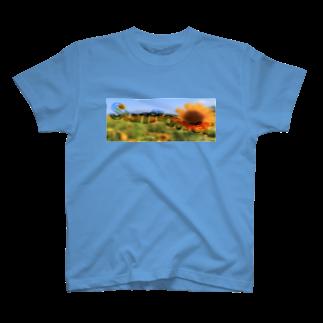 ChRiSUMARTのSUNFLOWER T-shirts