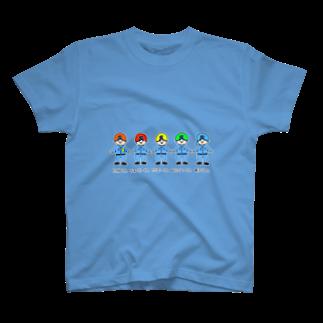 tsuruokaの表のみ T-shirts