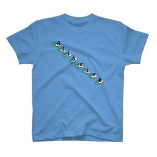 Slisurf PART2-2 T-Shirts フルグラフィックTシャツ T-shirts