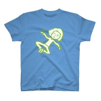 「ふ」の顔 T-shirts
