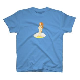 ボッティチェリ「ヴィーナスの誕生」 T-shirts