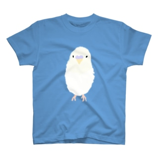 白いインコさん T-shirts