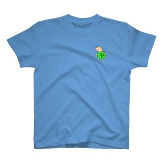 JOKER CROWNのゼニガメのゼニ T-shirts