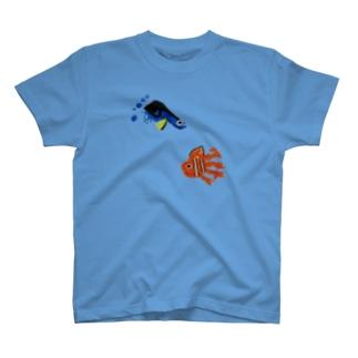 成長を感じる海 T-shirts