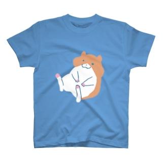 kurun's petit factory By 星咲まゆのぽてっとゆるかわハムスター T-shirts