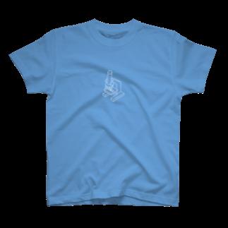 hirnの単眼顕微鏡 T-shirts