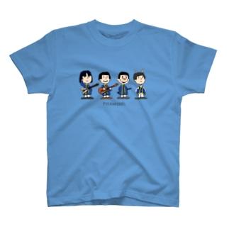 ピラミッドス カートゥーン風 T-shirts