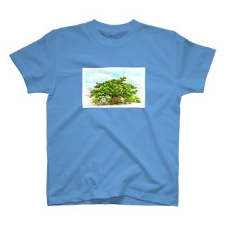 ガジュマル T-shirts