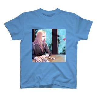 雨の窓 T-shirts
