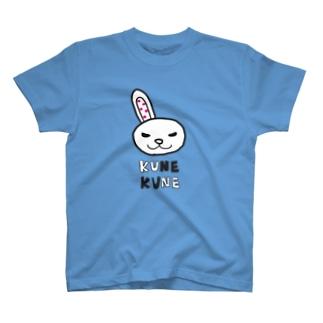 ももたまウサギ クネクネオリジナルTシャツ T-shirts