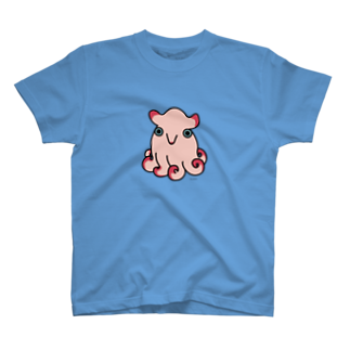 ho_kururiのジュウモンジダコちゃん T-shirts