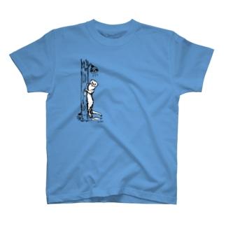 カワウソちらり T-shirts