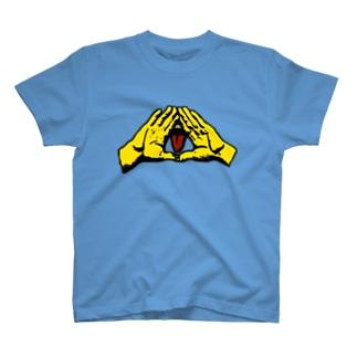 イルミナティ・タング(C) T-shirts