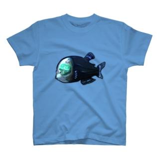ペントローの深海探検inデメニギス T-shirts