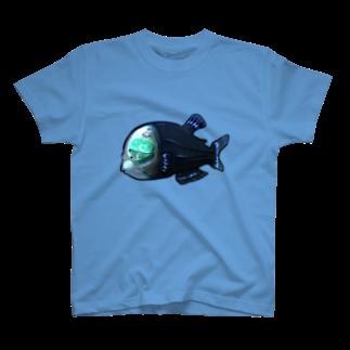となり町のペントローのペントローの深海探検inデメニギス T-shirts