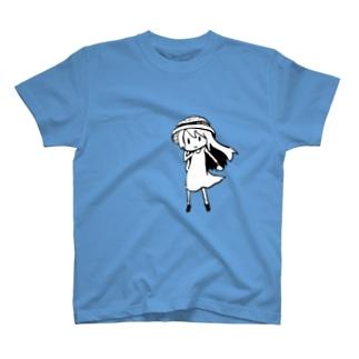 あの夏で待ってるガール T-shirts