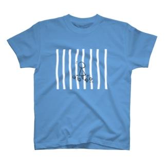 まるさんかくの日々 いいことみつけた ボーダー T-shirts