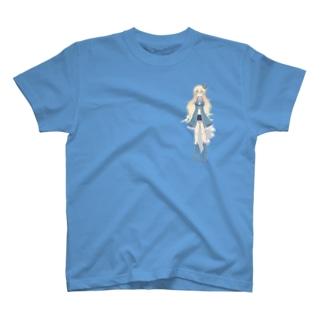 牧野桜Tシャツ T-shirts