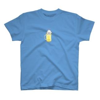 ひさしぶり!生ビールちゃん T-shirts