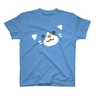 ほんわか通りのこねこさん(BIG FACE) T-shirts