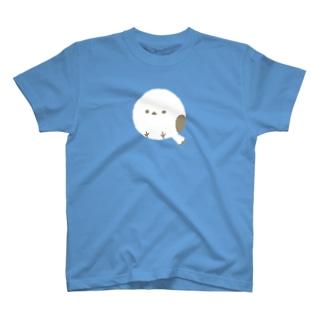 まんまるシマエナガ、どーん! T-shirts