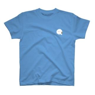 まんまるシマエナガ、ちょこん T-shirts