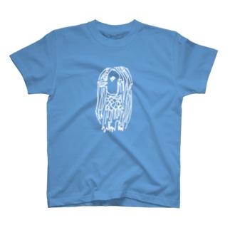 アマビエホワイト T-shirts