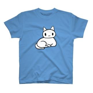 白ちゃんネコ T-shirts