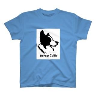 ボーダーコリー(愛犬シリーズ) T-shirts