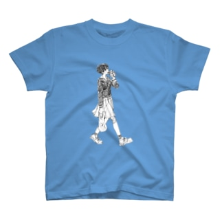 ラッパ飲みっ子 T-shirts