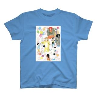鵺ちゃんといっしょ T-shirts