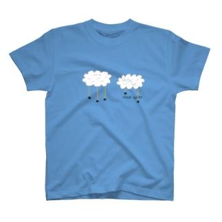 cloud spider 「雲から蜘蛛」 T-shirts