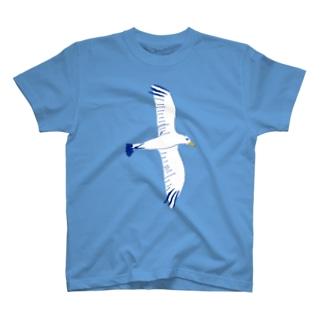 この夏おすすめデザイン!「かもめ」 T-shirts