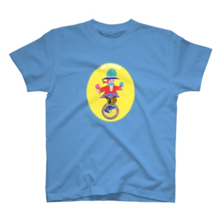 一輪車のアイスクリームやさん T-shirts