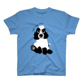 パピコッカー【ブルーローン】 T-shirts