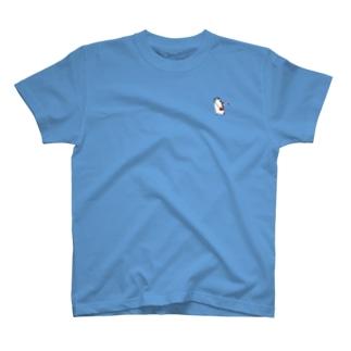 pichikuri_piのヒゲペン便(小) T-shirts