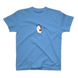 ヒゲペン便 T-shirts