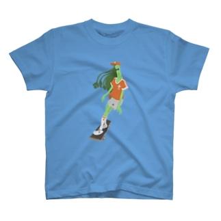 パクチーガール T-shirts