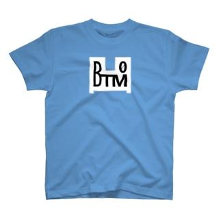 BTM-WHITE(フロントのみ) T-shirts
