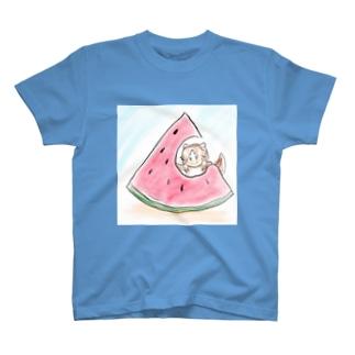 コユリスとスイカ T-shirts