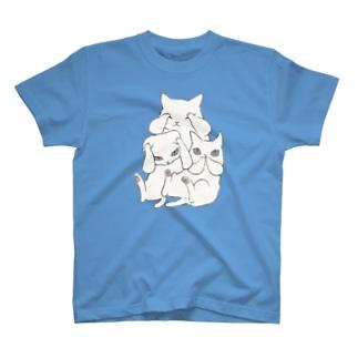 3にゃいねこ Tシャツ