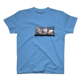 モクモ雲 T-shirts