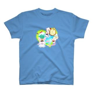 《ハロウィン》02*アリスうさぎ* T-shirts