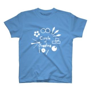 卵焼製作物置き場のCoJ運営Tシャツ(ブルー、ライトグリーン) T-shirts