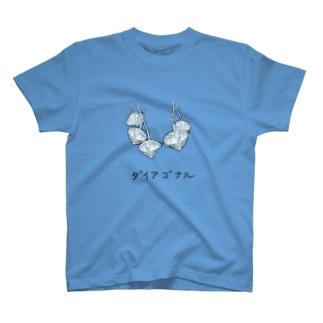 ダイアゴナル T-shirts